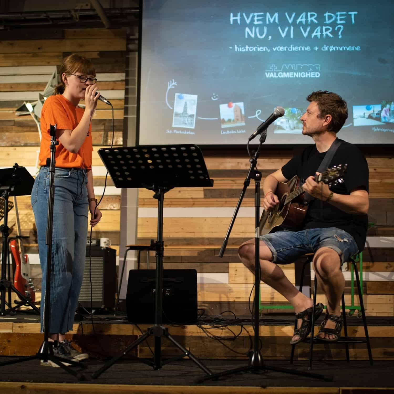Lyt til musik i Aalborg Valgmenighed